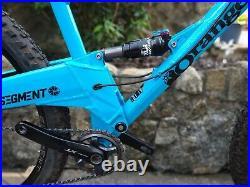 Orange Segment full suspension mountain bike, excellent condition, size large