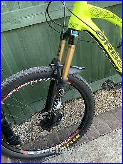 Orbea Rallon MEDIUM 27.5 650b enduro mountain bike /MTB/Full suspension