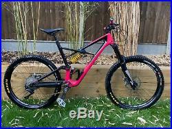 Pink Specialized Enduro Elite, 27.5, 650B Mountain Bike Ohlins + Extras, XL SIZE