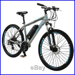 Pro Rider Mens Spark Electric Mountain Bike in Grey No1 Selling E MTB on EBay