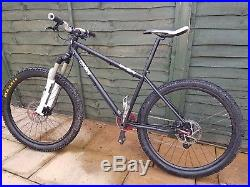 Ragley Blue Pig Steel Frame 16 inch Mountain Bike Rockshox, SRAM X9 Shimano SLX