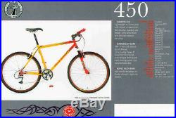 Raleigh Special Products Pro-line M-Trax 450 mountain bike Reynolds 853 Mavic