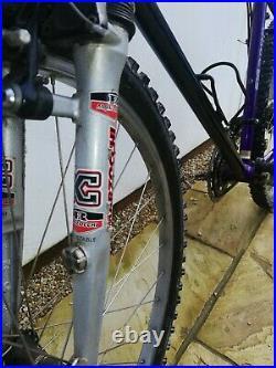 Raleigh Titanium M Trax Ti 3000 retro 90's Mountain Bike