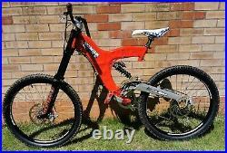 Rare Vintage Retro Mountain Cycle Shockwave 19 DH mtb mountain bike San Andreas