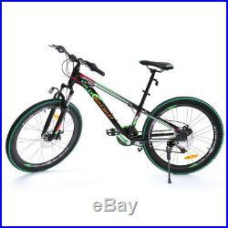 Ridgeyard 26 Bicycle Mens Mountain Bike 7 speed Aluminum Alloy Adults