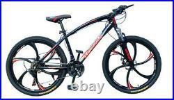 Road Mountain Bike Bicycle 21 Speed Men/Women 26 Wheel Carbon Frame Flatbar