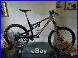 Rocky mountain, carbon, enduro full suspension, fox fork, 27.5 excellent bike
