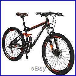 S7 27.5 Full Suspension Mountain Bike Shimano 21 Speed Mens Bicycle Disc Brake