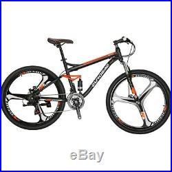 S7 Full Suspension Mountain Bike Shimano 21 Speed Mens Bicycle Disc Brakes 27.5