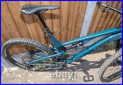SANTA CRUZ 5010 INK BLUE ALUMINIUM FRAME 2018 Full Suspension MTB bicycle bike