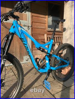 SPECIALIZED STUMPJUMPER FSR COMP EVO 650B Large Full Suspension Mountain Bike