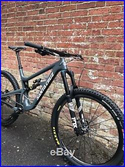 Santa Cruz 2018 Hightower LT C S Mens Mountain Bike Grey