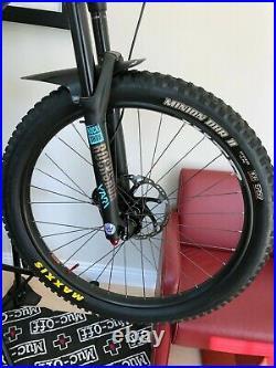 Santa Cruz Bronson 2019 Carbon R Blue XL (Custom)