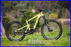 Santa Cruz, Heckler CC S Kit, Electric Mountain Bike Yellow XL Ebike