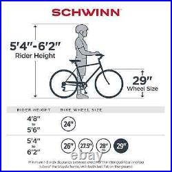 Schwinn 29 Ider Dual Suspension Mountain Bike, 21-speeds