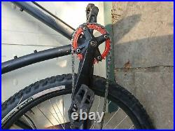 Specialized Rockhopper Custom Hardtail Trail and Wheelie Bike (Black and Red)