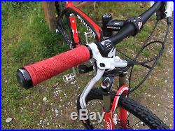 Specialized S Works Mens Mountain Bike Carbon Fibre Frame Black Red Hard Tail