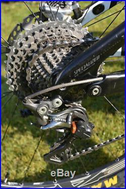 Specialized S-Works Stumpjumper 2013-14 29er full carbon build all mountain bike