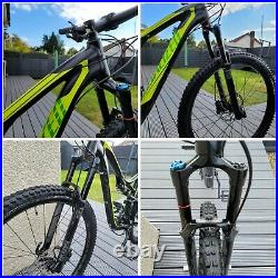 Specialized Stumpjumper Comp EVO FSR M5 29er full suspension mountain bike Large