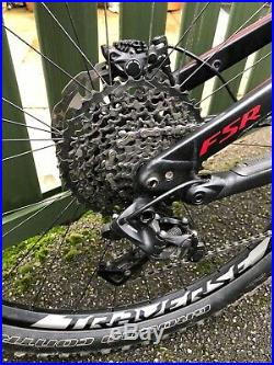 Specialized Stumpjumper FSR Carbon Expert 650b Large Mens Mountain Bike