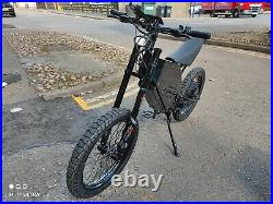 Stealth Bomber 8000W E Bike Electric Bicycle Mountain Motorcycle