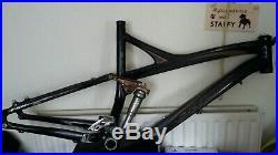 Sworks Enduro Frame large specialized FSR SL mtb bike mountain XTR carbon 09