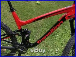 Transition Scout 3 2017 Full Suspension Mountain Bike in Red Rum Colour, XL Size