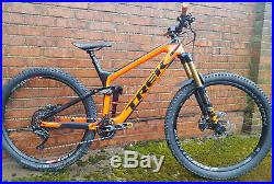Trek Slash 9.8 2018 Large Enduro Mountain bike Custom spec Fox DT Swiss Shimano