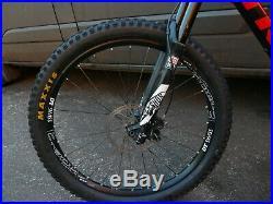 Trek remedy 9.9 carbon mountain bike large 27.5 good condition