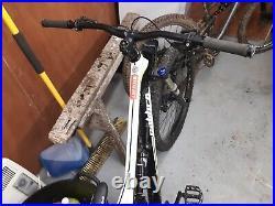 Upgraded Calibre Bossnut, men's mountain bike. Full suspension. 27.5 MTB