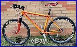 VGC Retro Vintage 2000 Klein Attitude Comp MTB mountain bike 17.5 Jamaican Gold