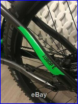 VooDoo Zobop E Full Suspension Electric Mountain Bike Keys And Bosch Charger