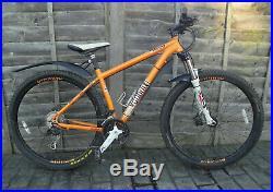 Voodoo Aizan 29er Mountain Bike Orange Alloy 18 Frame, Maxxis Tyre, 29 Wheels