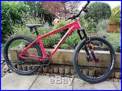 Whyte 905 RS Hardtail Orange Mountain Bike excellent condition