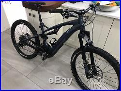 Whyte E150rs full suspension EMTB Mountain bike