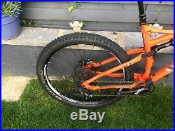 Whyte G-160 WORKS 27.5 Mountain Bike Full Suspension 2017 Size Large
