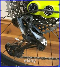 Whyte G-170 C WORKS 27.5 Mountain Bike Full Suspension 2018 Matt Lime (Medium)