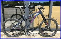 Whyte G-170 S 27.5 Mountain Bike Full Suspension V2 Matt Midnight (X-Large)