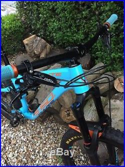 Whyte S-150 S Mountain Bike Full Suspension 2018 Blue, Orange/Denim/Sky Medium
