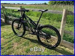 Whyte T130 RS Full Suspension Mountain Bike Trail Bike 2018 Large