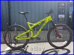 Whyte T130 Sx Full Suspension Mountain Bike 27.5 Large Gents Gy