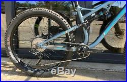 Whyte T-130 SR V1 27.5 Mountain Bike Full Suspension Matt Petrol Medium