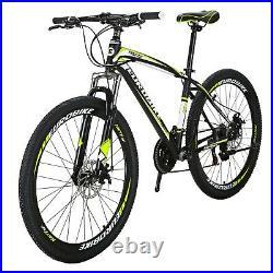 X1 Moutnain Bike Shimano 21 Speed Daul Disc Brakes Mens Bikes 27.5 Bicycle mtb
